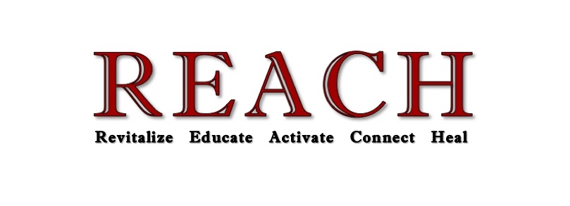 Revitalize, Educate, Activate, Connect, Heal.